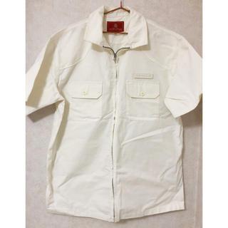 アヴィレックス(AVIREX)のAVIREX ジッパーシャツ(Tシャツ/カットソー(半袖/袖なし))