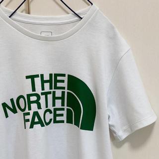 THE NORTH FACE - ノースフェイス Tシャツ グリーンロゴ