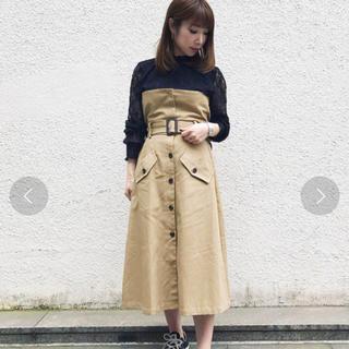 アンレリッシュ(UNRELISH)のトレンチ風2wayスカート(ロングスカート)