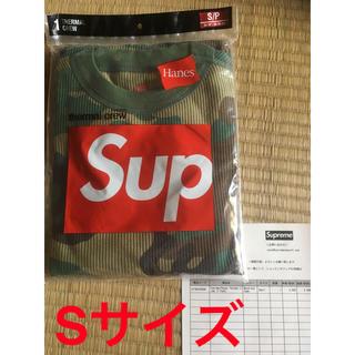 シュプリーム(Supreme)のシュプリーム  19AW ヘインズ ロンT Sサイズ(Tシャツ/カットソー(七分/長袖))