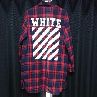 OFF-WHITE - オフホワイト / off-white / チェックシャツ
