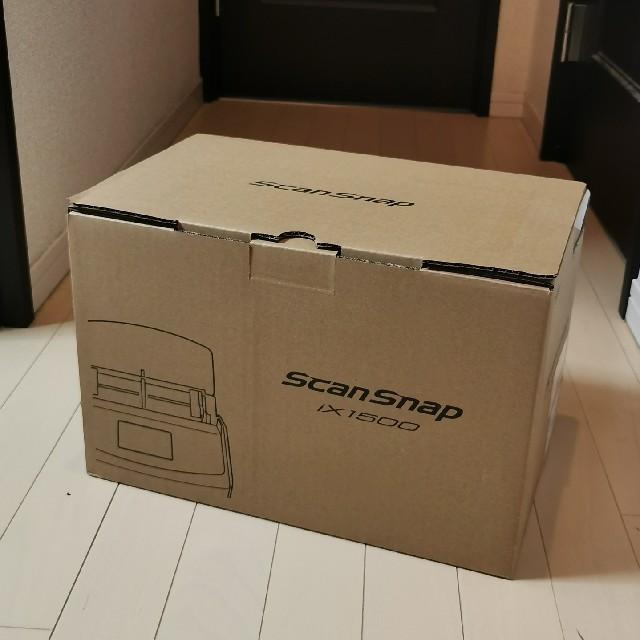 富士通(フジツウ)のScanSnap iX1500(ホワイト) スマホ/家電/カメラのPC/タブレット(PC周辺機器)の商品写真