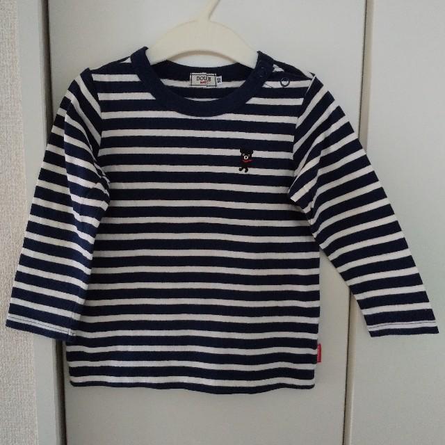 DOUBLE.B(ダブルビー)の長袖Tシャツ 男の子 90cm キッズ/ベビー/マタニティのキッズ服男の子用(90cm~)(Tシャツ/カットソー)の商品写真