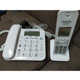 Panasonic コードレス電話 VE-GZ208DLE 子機1台付き(その他)