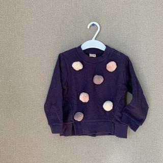プティマイン(petit main)のトレーナー(Tシャツ/カットソー)