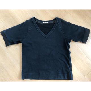 マルニ(Marni)のマルニ スエット生地 Tシャツ(Tシャツ/カットソー(半袖/袖なし))