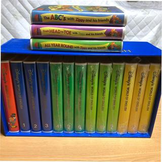Disney - ディズニー英語システム ワールドファミリー VHS全12巻