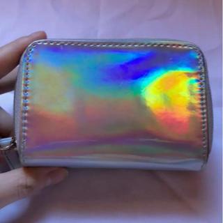ウィゴー(WEGO)のWEGO♥️オーロラミニ財布(財布)