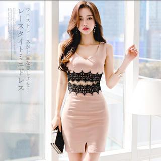 Andy - レースタイトミニドレス 韓国ドレス キャバドレス