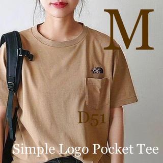 THE NORTH FACE - 【M】ノースフェイス★Tシャツ★ケルプタン★ポケット★刺繍ロゴ