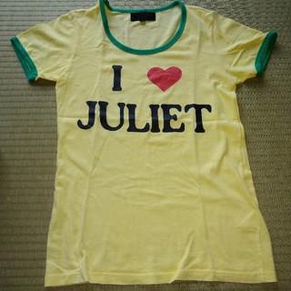エルエーゲート(LA GATE)のLA GATE I♡JULIET ロゴTシャツ(Tシャツ/カットソー(半袖/袖なし))