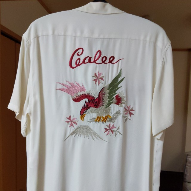 CALEE(キャリー)のCALEE レーヨンシャツ メンズのトップス(シャツ)の商品写真