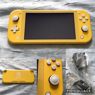 Nintendo Switch - Nintendo Switch  Lite 本体 イエロー 外箱あり