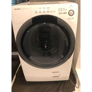 SHARP - 洗濯乾燥機 全自動、ドラム式