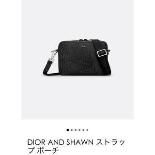 ディオール(Dior)のDIOR AND SHAWN ストラップ ポーチ(ショルダーバッグ)