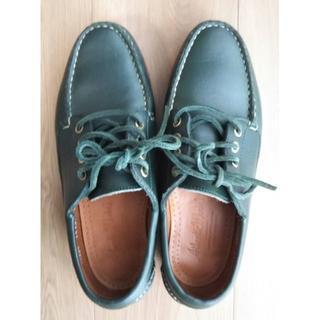 ビームス(BEAMS)のAtlantic Works レザーデッキシューズ(ローファー/革靴)