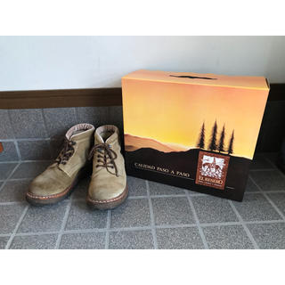 レッドウィング(REDWING)の箱付き EL RESERO エルレセロ mid mountain boots(ブーツ)