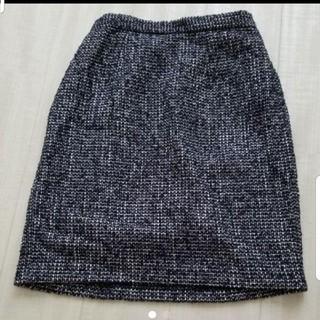 ミッシュマッシュ(MISCH MASCH)のミッシュマッシュ】ツイード 膝丈スカート(ひざ丈スカート)