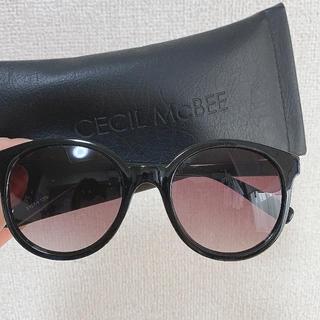 セシルマクビー(CECIL McBEE)のサングラス(サングラス/メガネ)