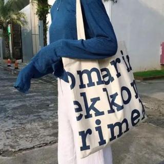 マリメッコ(marimekko)のマリメッコ トートバッグ ブルー(トートバッグ)