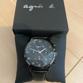 アニエスベー(agnes b.)のアニエスベー 腕時計 マルチェロ ソーラー TiCTAC別注モデル(腕時計)
