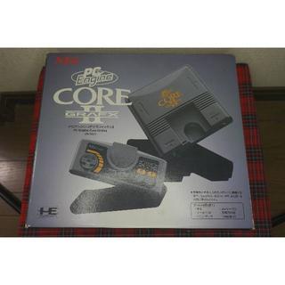 エヌイーシー(NEC)のPCエンジンコアグラフィックスⅡ本体 & ソフト5本(家庭用ゲーム機本体)