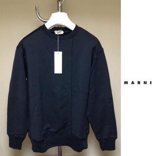 マルニ(Marni)の新品■44■MARNI 19ss■再構築スウェット■黒■ブラック■9110(スウェット)