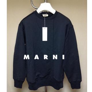 マルニ(Marni)の新品■46■MARNI 19ss■再構築スウェット■黒■ブラック■9111(スウェット)