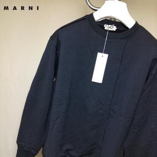 Jil Sander - 新品■48■MARNI 19ss■再構築スウェット■黒■ブラック■9112