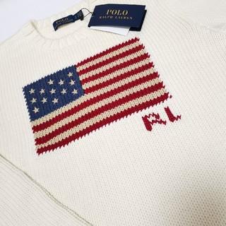 POLO RALPH LAUREN - Ralph Lauren 定番! 星条旗 セーター レディース 国内正規品