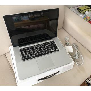 マック(MAC)の8 macbook  pro late2011 ジャンク品(ノートPC)