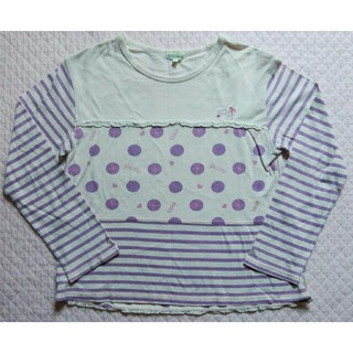サンカンシオン(3can4on)の3can4on 長袖Tシャツ 140 🎀 サンカンシオン ロンT カットソー (Tシャツ/カットソー)