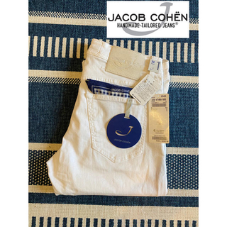 JACOB COHEN - JACOB COHEN ヤコブコーエン 622  32 香水 ホワイトデニム