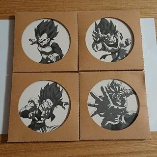 ドラゴンボール(ドラゴンボール)のドラゴンボール コースター 4枚セット カゴメキャンペーン当選品 限定(その他)