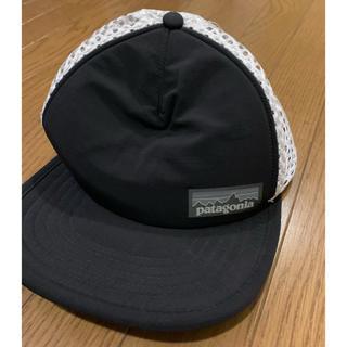 パタゴニア(patagonia)の美品☆patagonia☆ダックビル トラッカー ハット☆キャップ☆帽子☆黒(キャップ)