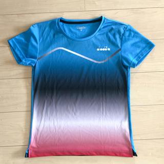 ディアドラ(DIADORA)のディアドラ レディース Tシャツ O  LL(ウェア)