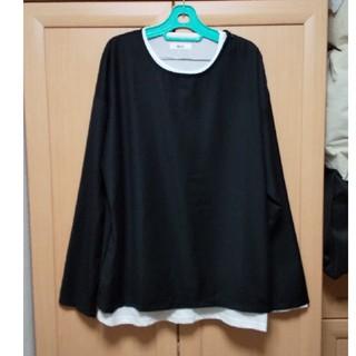 ウィゴー(WEGO)のWEGO     重ね着風Tシャツ(Tシャツ/カットソー(半袖/袖なし))