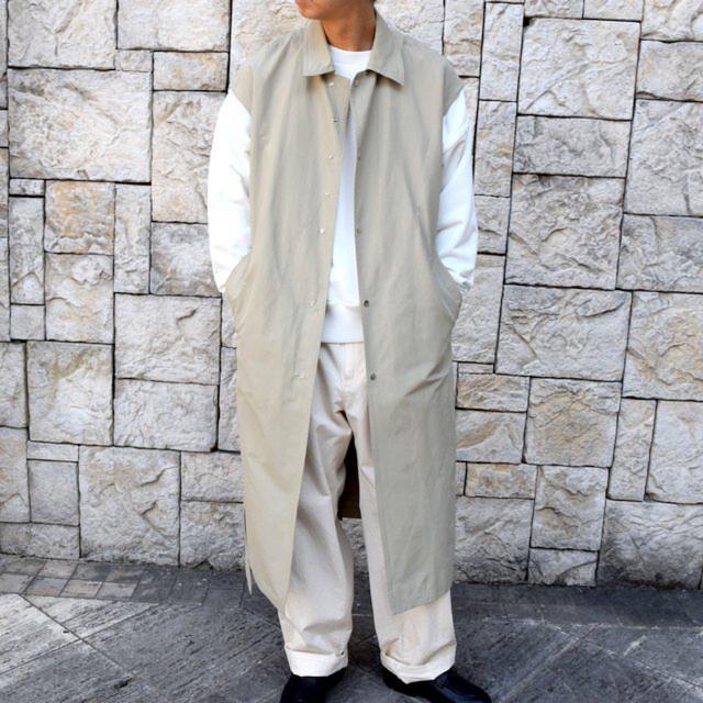COMOLI(コモリ)のyoke ヨーク DETACHABLE DUSTER COAT メンズのジャケット/アウター(ステンカラーコート)の商品写真