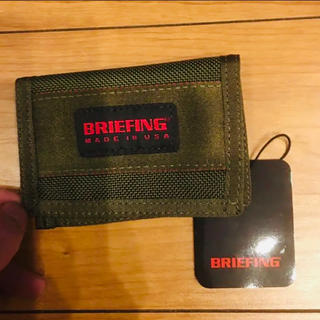 BRIEFING - USA生産.Briefing.Fold Pass Case.Olive.新品