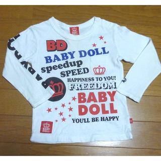 ベビードール(BABYDOLL)のBABY DOLL ベビードール Tシャツ(長袖) サイズ90 <e254>(Tシャツ/カットソー)