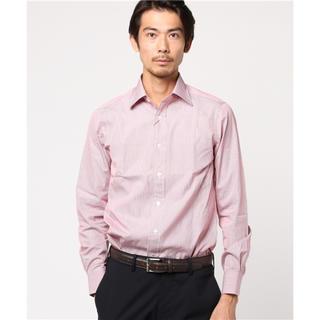 ビームス(BEAMS)の定価15400円 BEAMS F ペンシルストライプセミワイドカラーシャツ 41(シャツ)
