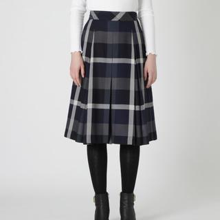 バーバリーブルーレーベル(BURBERRY BLUE LABEL)のブルーレーベルクレストブリッジ キュロットスカート サイズ36(ひざ丈スカート)