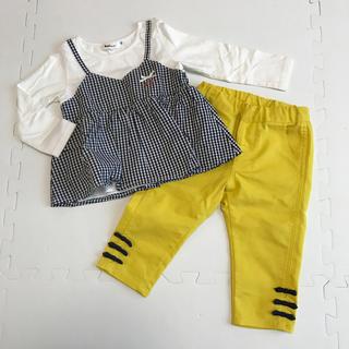 ベベ(BeBe)のBeBe  トップス&パンツ 2点セット(Tシャツ/カットソー)
