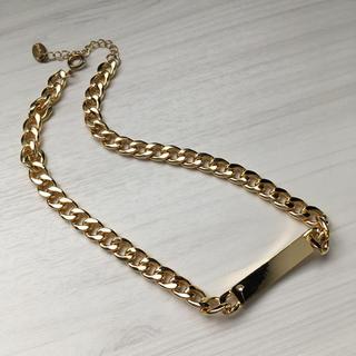 フレイアイディー(FRAY I.D)のFRAY I.D フレイ アイディー ゴールドプレート チェーンネックレス(ネックレス)