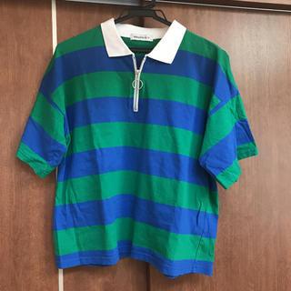 ウィゴー(WEGO)のWEGO レディース襟付きTシャツ(Tシャツ(半袖/袖なし))
