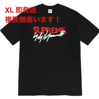 Supreme - supreme yohji yamamoto logo tee XL 黒