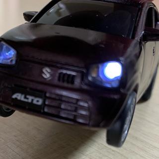 スズキ(スズキ)の☆SUZUKI 新型アルト プルバックカー ライト点灯式(ミニカー)