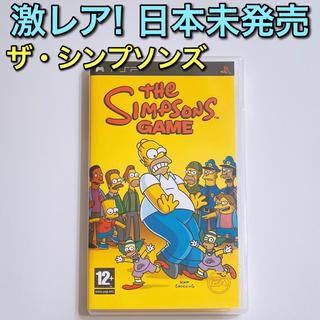 ザ・シンプソンズ Game PSP 美品! ゲーム ソフト Simpsons