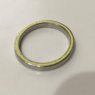 プラチナ デザインリング 七宝焼 指輪(リング(指輪))