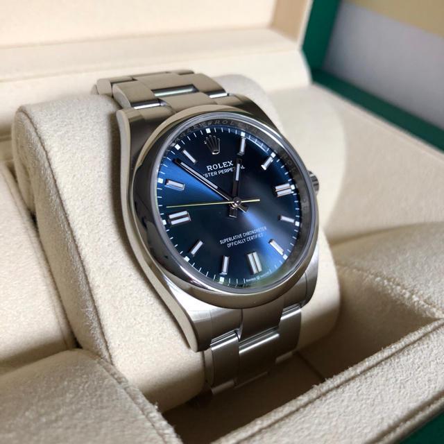 ロレックス  オイスターパーペチュアル36mm ブライトブルー 2020年新作  メンズの時計(腕時計(アナログ))の商品写真
